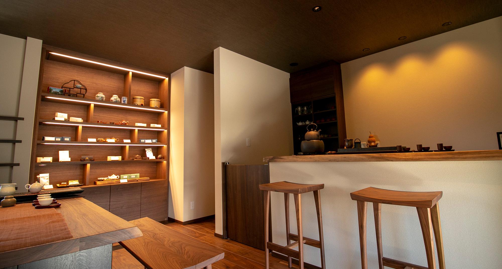 安曇野市穂高 台湾茶 カフェ いろは