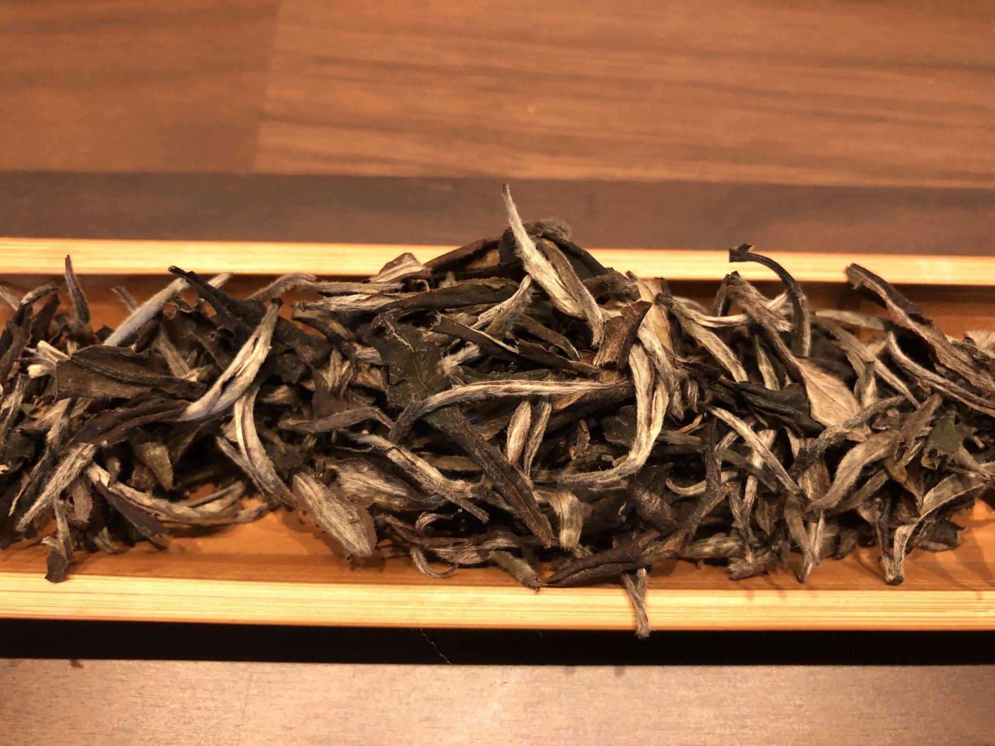 白茶と紅茶のセット(白牡丹、蜜香紅茶)